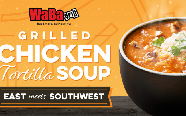 WaBa Grill - Grilled Chicken Tortilla Soup creative
