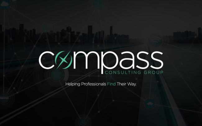 Logo and brand creation for Compass Consulting Group